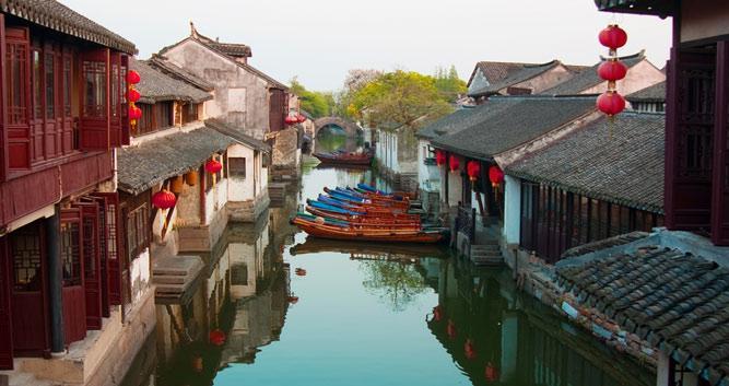4. Water Village of Tongli, near Shanghai in China Luxury Travel