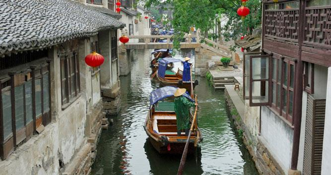 3. Water Village of Tongli, near Shanghai in China Luxury Travel