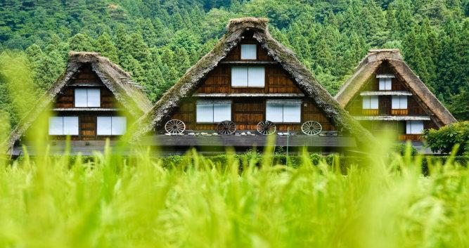Shirakawa-go houses, Luxury Japan Tours