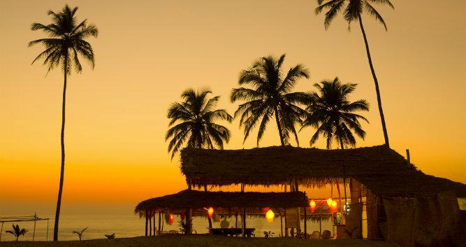 Sunset in Goa - India