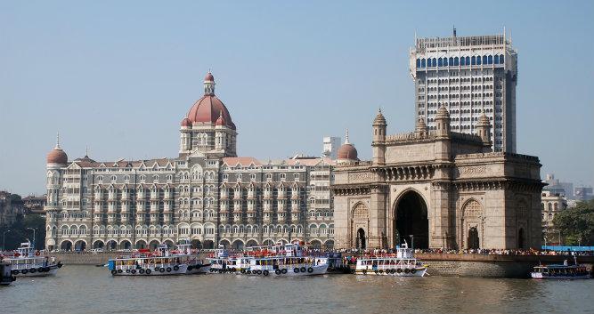 The Gateway of India monument, Mumbai, India