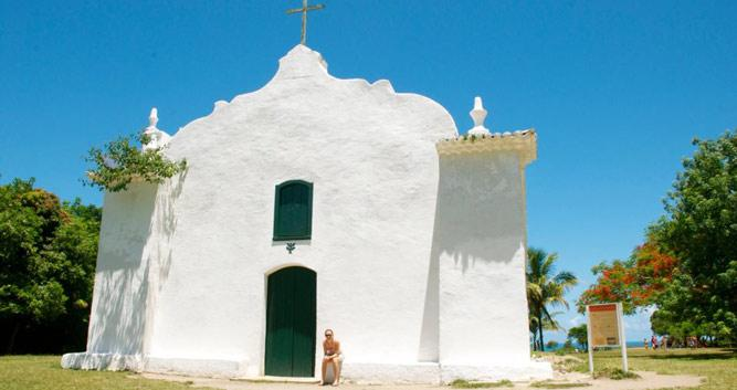 Sao Joao Church, Trancoso, Brazil