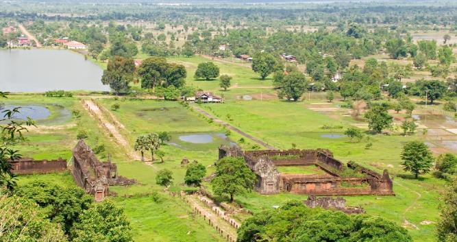 UNESCO world heritage site Wat Phou, Champasak Province, Laos