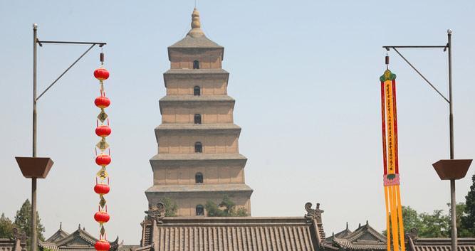 2. Big Wild Goose Pagoda, Xian in Luxury China Travel