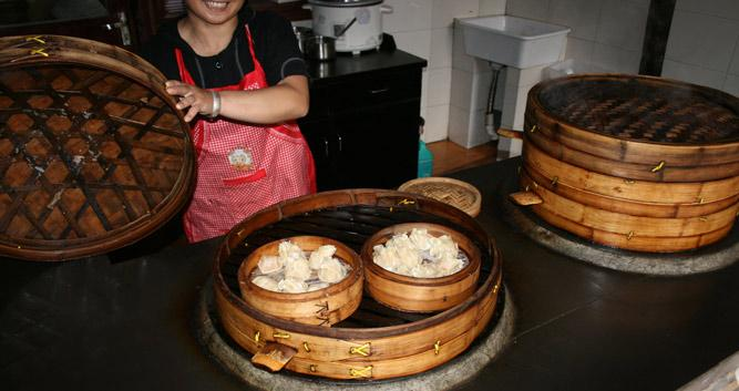 Wuzhen local delicacies,near Hangzhou, China in Luxury China Travel