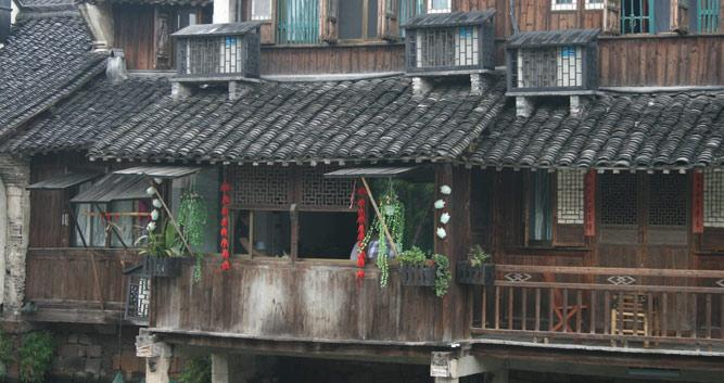 Wuzhen ancient house near Hangzhou, China in Luxury China Travel