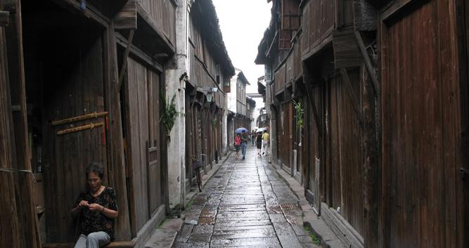 Wuzhen street near Hangzhou, China in Luxury China Travel