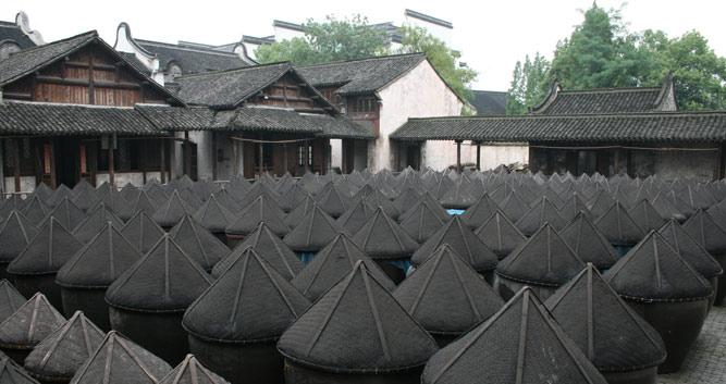 Wuzhen soy making factory, Hangzhou, China in Luxury China Travel
