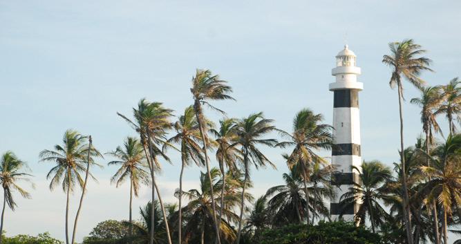 Lighthouse close to Lencois Maranhenses, Brazil