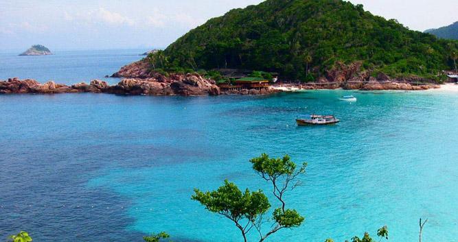 Turquoise blue sea, Redang Island, Malaysia