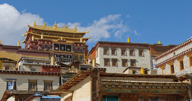 Songzanlin Monastery, Shangri-La, Yunnan, China