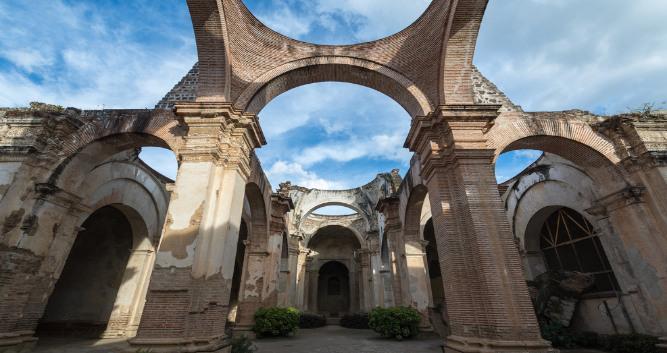 Colonial ruins