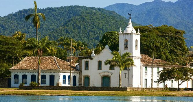 Colonial architecture, Paraty, Brazil