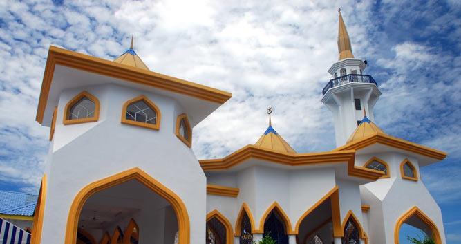 Mosque, Penang, Malaysia