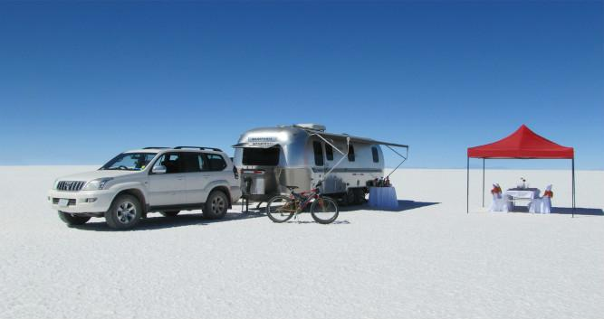 Airstream Camper, Bolivia, South America