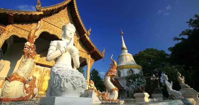 Darapirom Temple, Chiang Mai, Thailand