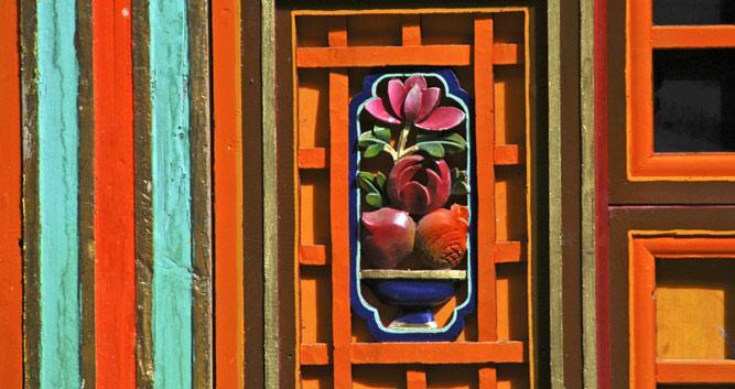 Image of Window on Potala Palace, Potala Palace - Luxury China Travel