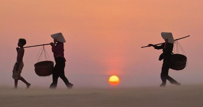 San dunes, Phan Thiet, Vietnam