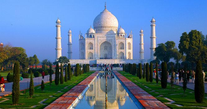 Image of Taj Mahal, Agra, India - Luxury India Travel