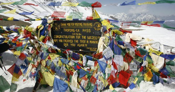 Thorong-La Pass, Annapurna, Nepal