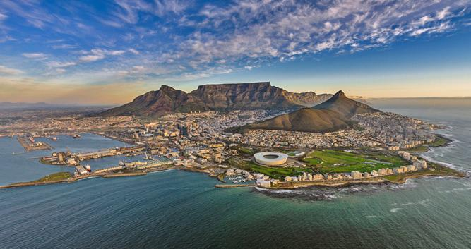 Arial Cape Town