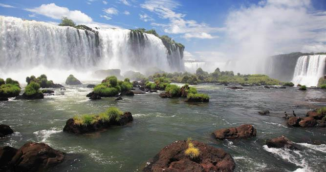 Iguassu Falls, Agrentina, South America