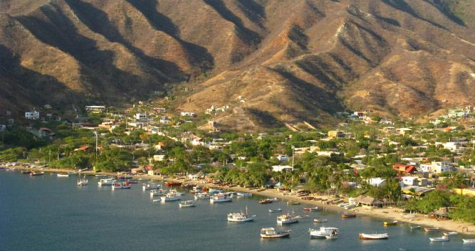 Taganga Bay, Colombia, South America