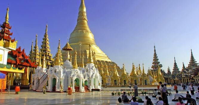 Shwedagon, Yangon, Burma