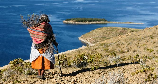 Lake Titicaca, Bolivia, South America