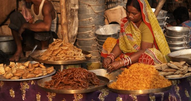 Sweet seller, Northern India