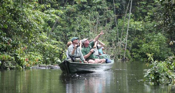 Exploring the Amazon from the MV Tucano, Amazon Rainforest, Brazil