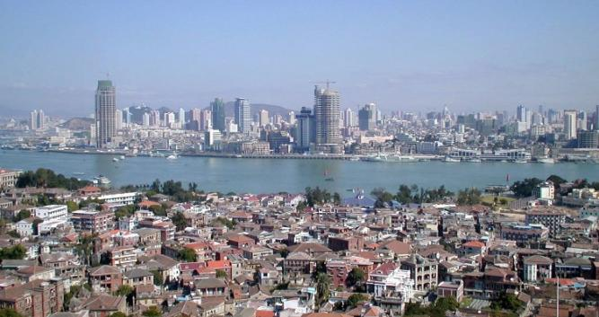 2. Xiamen Cityscape in China Luxury Travel