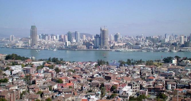 2. Xiamen Cityscape in China Luxury Travel